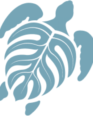 A blue sea turtle icon
